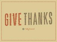 Give Thanks facebook header
