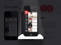 iPhone Template Pop Up Preview