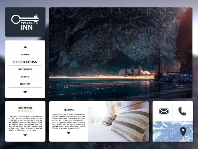 Design Bank Wit.Two Keys Inn By Iva Risek On Dribbble