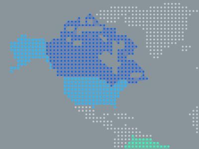 Rdio Map rdio map usa canada brazil world