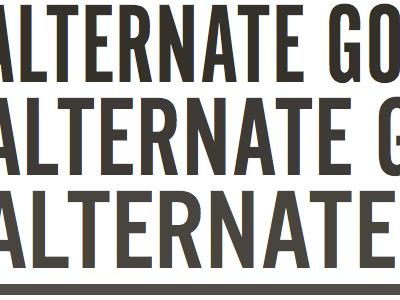 Alternate Gothic typekit urw alternate gothic