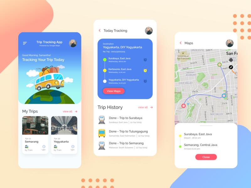#Exploration | Track Location App branding uidesigns travelling product ios app design ui ux dribbble ux minimalist uidesign ui design ios app ios