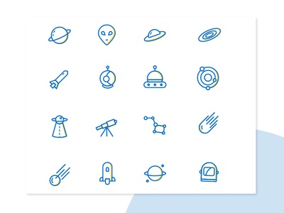 Space Icons Sets