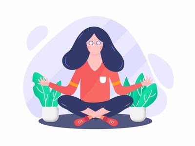 Stay Healthy, Doing Yoga