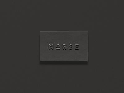 NORSE noir masculine confident nordic natural minimal clean