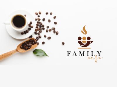 Family Cafe - Visual Identity identity design identity branding visual identity logomark logotype brand identity coffe cafe logo typography logo branding brand