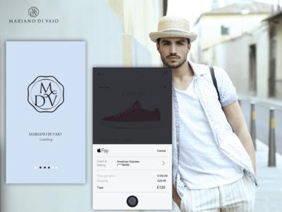 MDV Store - Mariano Di Vaio App Design
