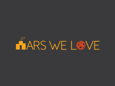 Logo for an NGO working for Life on Mars.