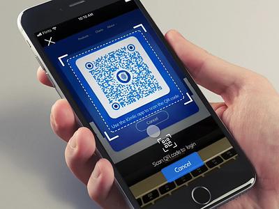 Digital ID Verification App interaction animation interface flat blockchain ui ux minimal design app ios