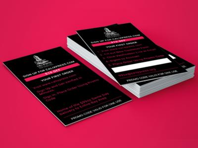 Cali Xpress Business card design