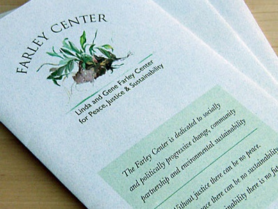 Farley Center Brochure and Logo