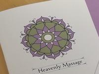 Heavenly Massage Brochure
