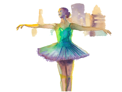 Ballerina Illustration