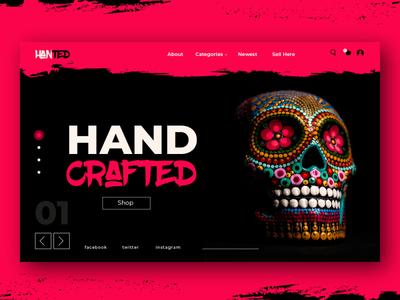 HANTED UI Design