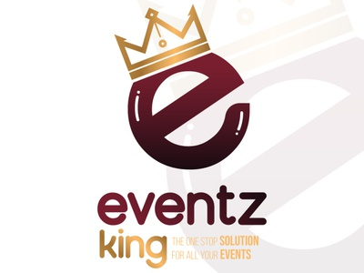 Eventz King Logo Design