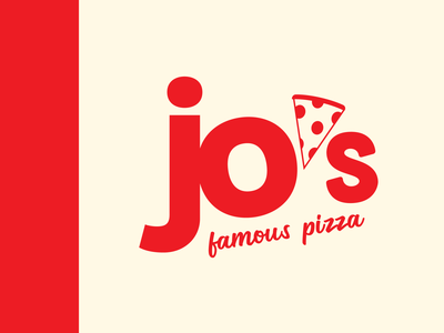 Jo's Famous Pizza Logo (Alt Version)