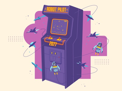 Robot Pilot (Arcade)