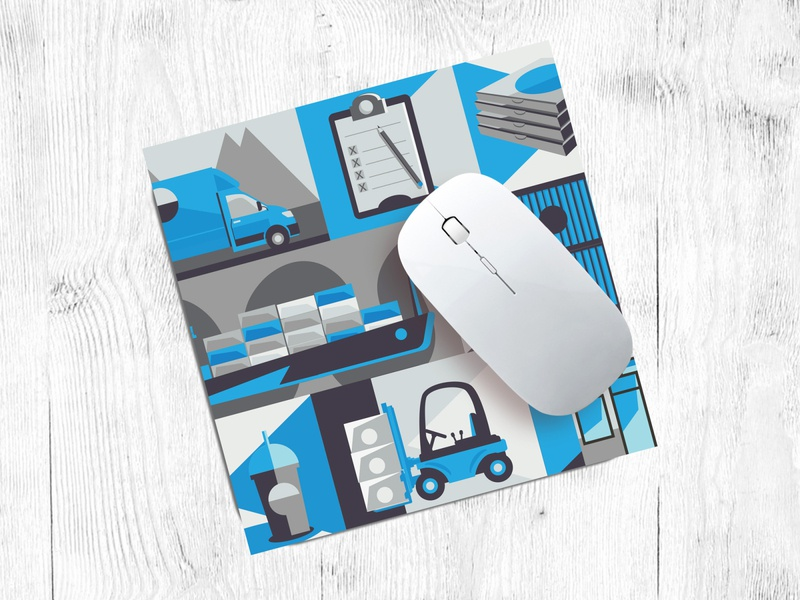 Team Three Group Mouse Pad