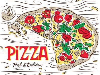 Pizza Box (Generic) pizza