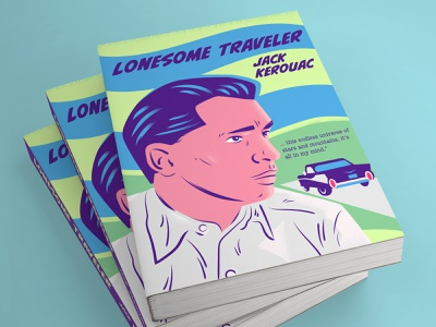 Lonesome Traveller book cover beat generation jack kerouac