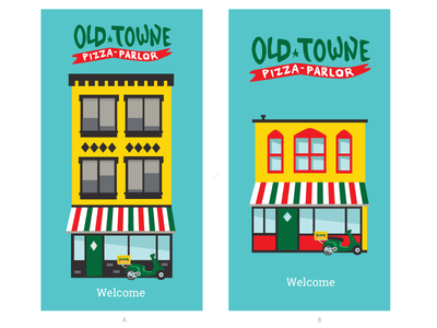 Old Towne PIzza Parlor Load Screens