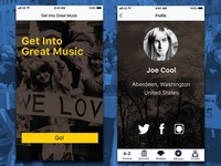 Load | User Profile Screens