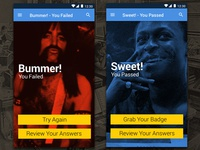 Get Into Great Music Quiz Screens (Android)