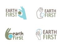 Earth First Logo Designs