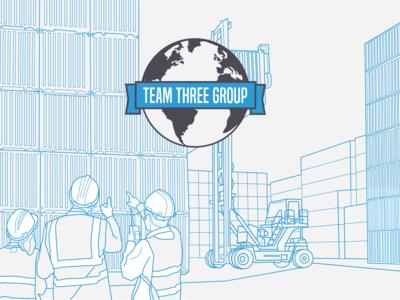 Vector Illustration for Branding Guide Cover