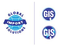 Global Import Solutions Logo (set 2)