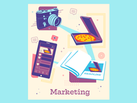 Marketing Web Tile
