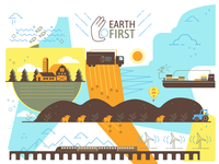 Earth First Landscape (Remix #2)