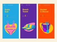 Beach Checklist Screens