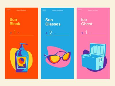 Beach Checklist Screens (#2)