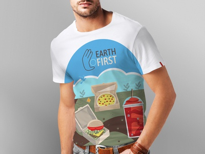 Earth First T Shirt