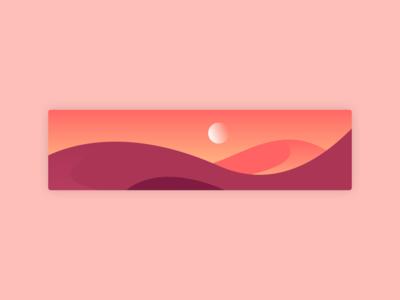 Desert Ilustration