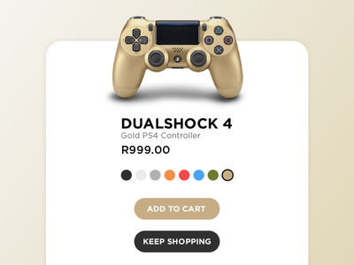 Day 033 : Customize Product - Daily UI challenge