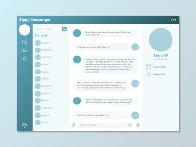 Day 013 : Direct Messaging - Daily UI challenge