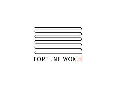 Fortune Wok Brand fortune wok logos branding