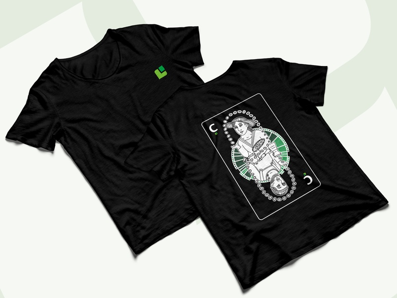 Cropster T-Shirt 2020 branding design specialty coffee speciality coffee coffee card playing card logo vector shirtdesign t-shirt design t-shirt design illustration branding apparel design apparel