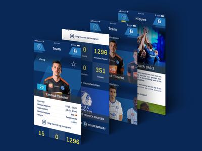 K.A.A. Gent Mobile App Concept