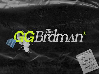 GGBrdman Twitch Banner streamer stream blkmarket plastic grungy grunge typography 8 bit live streaming live stream livestream twitch banner twitch.tv twitch branding logo
