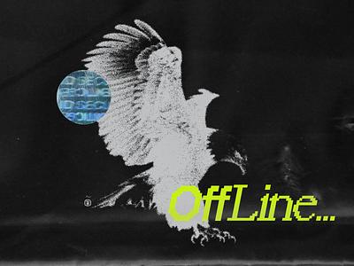 GGBrdman Twitch Offline streamer stream blkmarket plastic grungy grunge typography 8 bit live streaming live stream livestream offline twitch.tv twitch branding logo