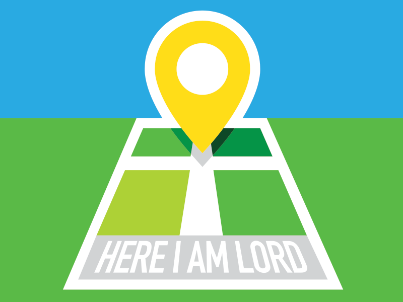 Here I Am Lord by Jared Brdicko on Dribbble