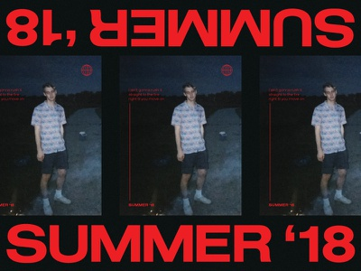 RUSH summer extended typography camera disposable photography film 35 mm
