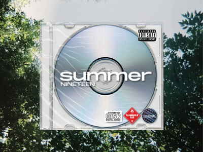 💽 typography texture playlist summer sticker cd photography film 35mm cover art