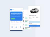 Rent App (mobile web)