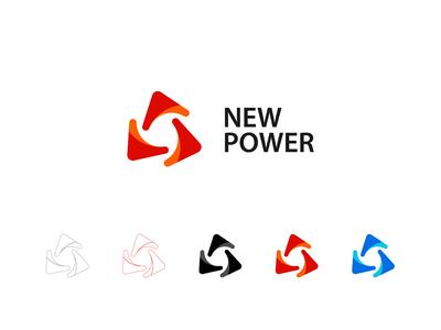 new power logo