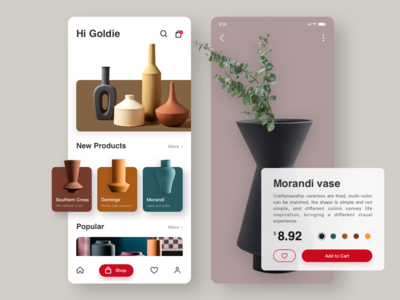 Decoration shopping App