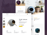 Classy cat furniture –product page
